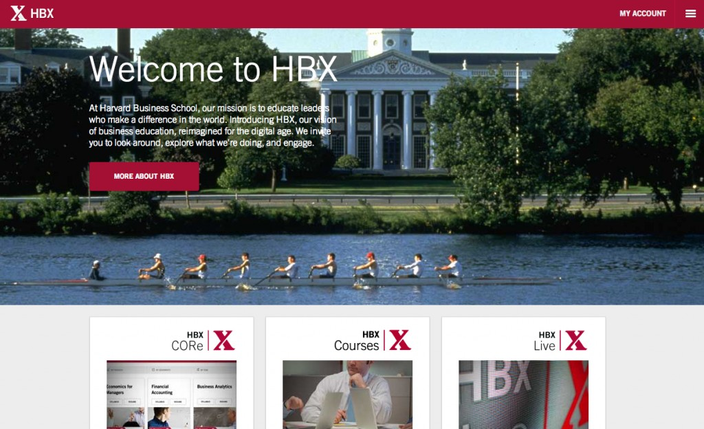 HBX - Educational initiative powered by Harvard Business School